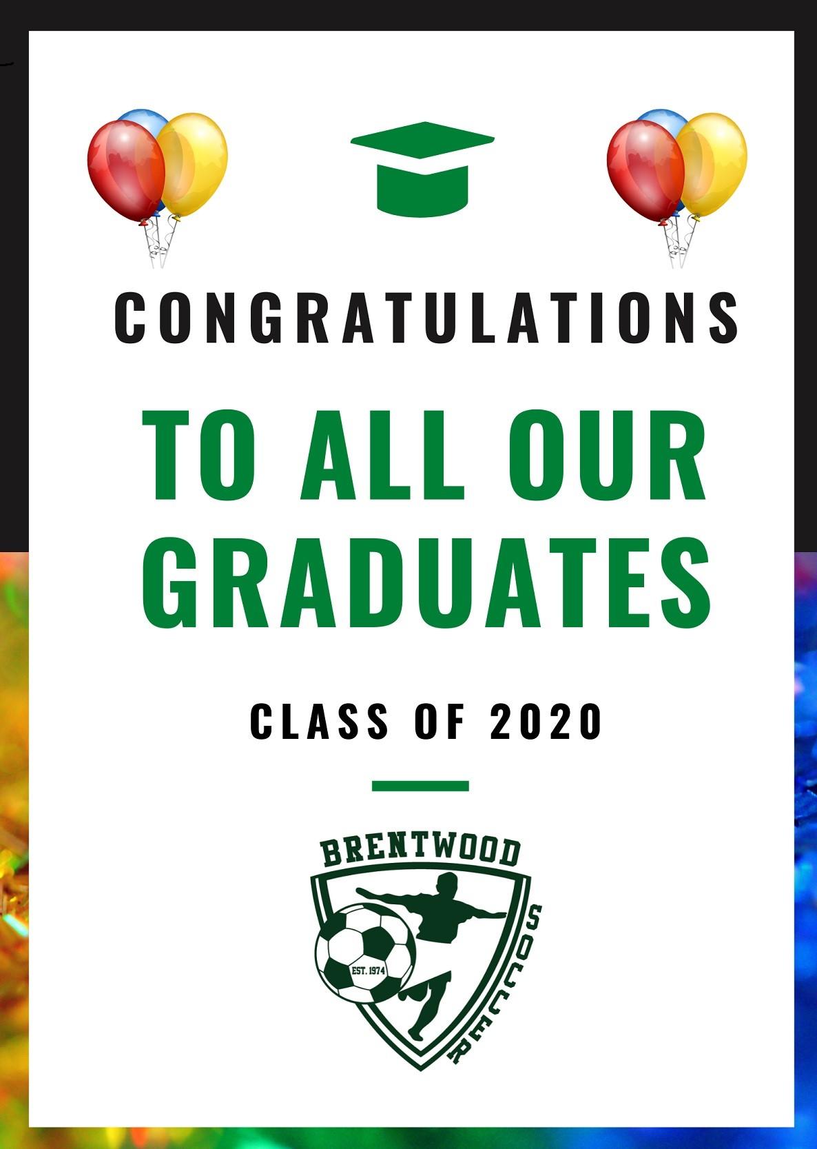 Graduation Annoucement Poster