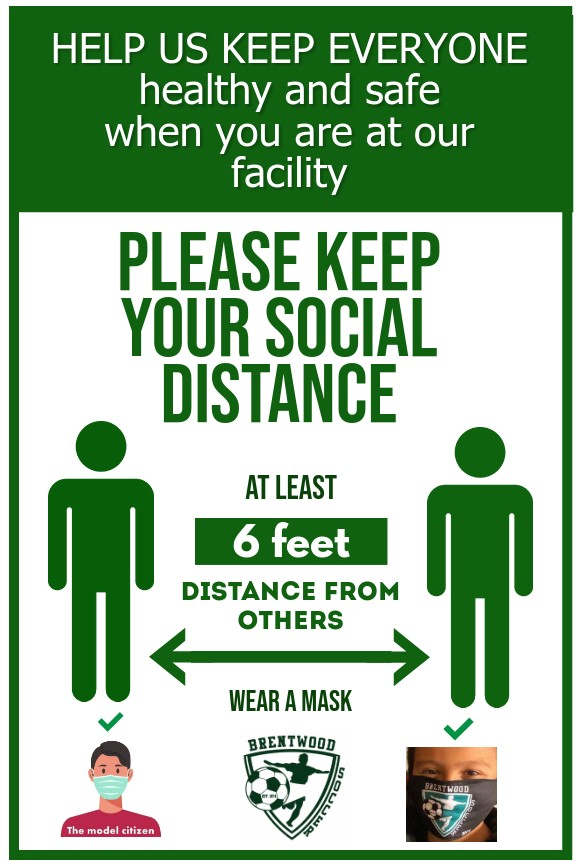 Copy of Please Keep Your Social Distance - PosterMyWall 7-2020