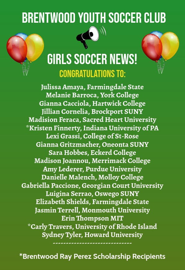 Girls Soccer News Announcement 9-10-2020 - Made with PosterMyWall
