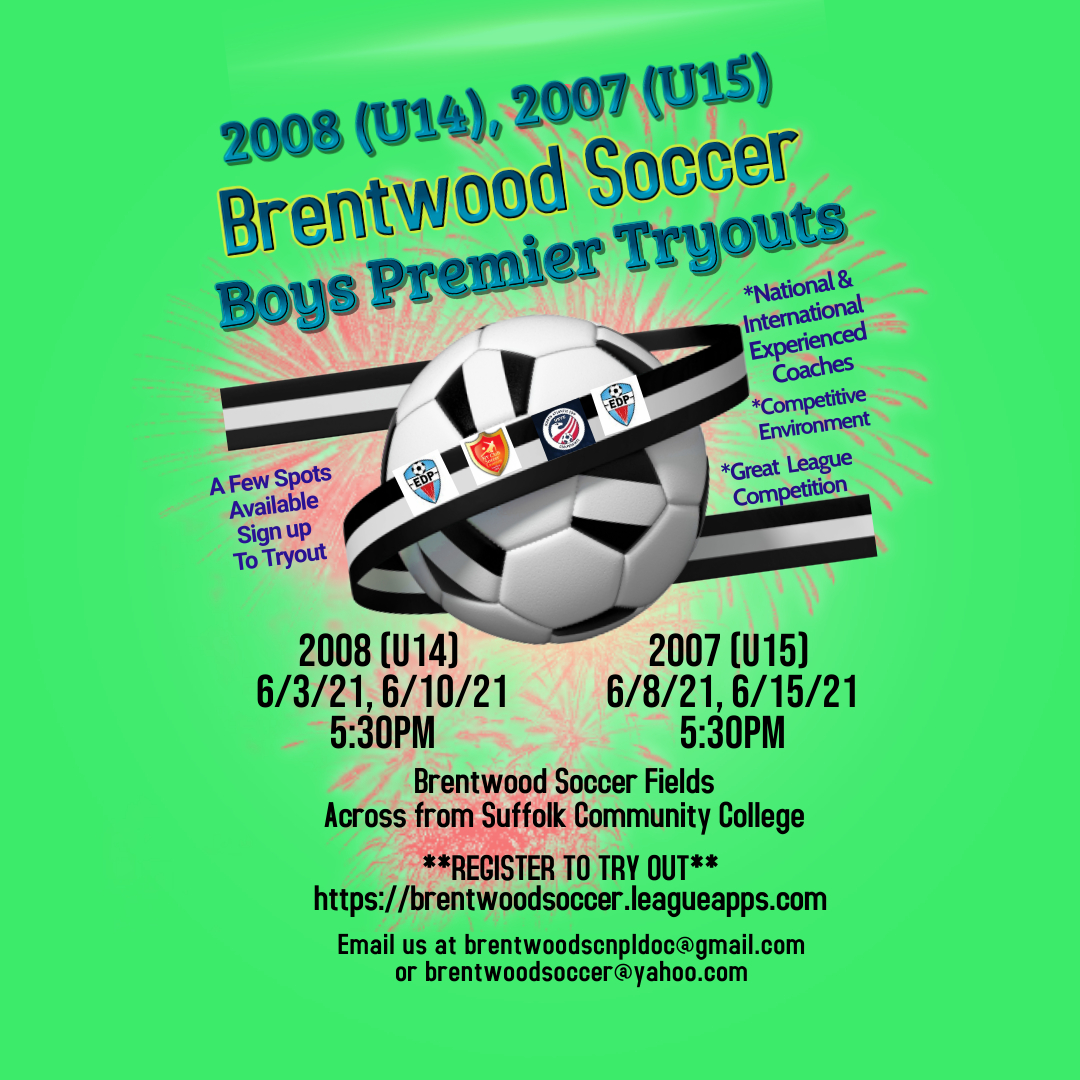 2008-2007 Soccer Tryouts 2021 Insta Poster Flyer Template - Made with PosterMyWall