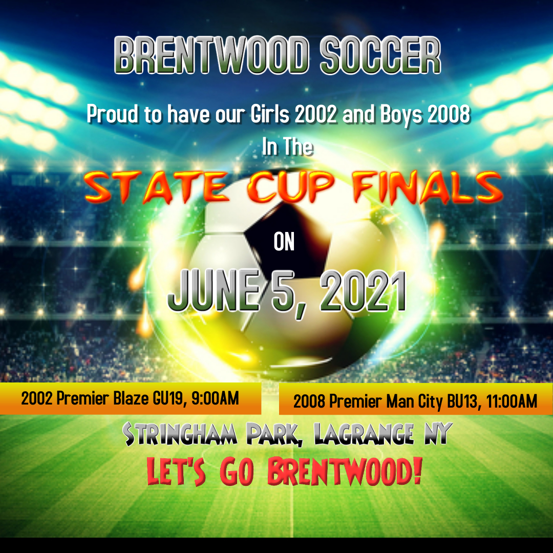 State Cup Finals 2021 - Made with PosterMyWall