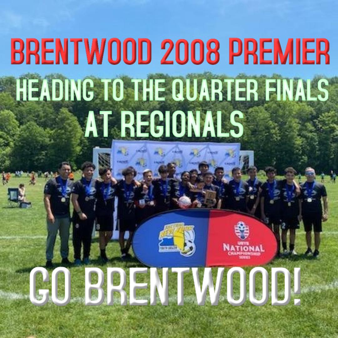 Brentwood Premier 2008 Heading to Quarter Finals 2021